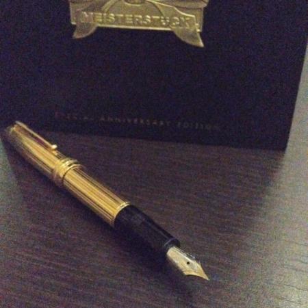 penna montblanc meisterstuck